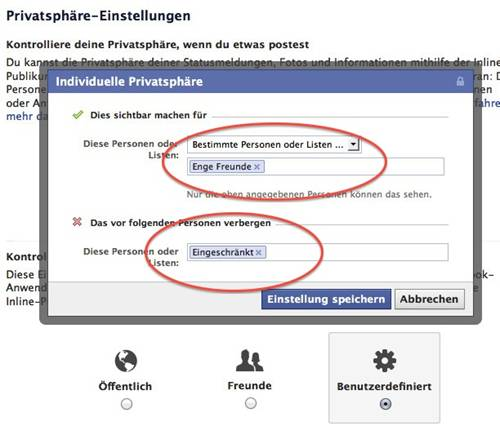 Für bestimmte verbergen facebook beziehungsstatus personen Facebook Beziehungsstatus